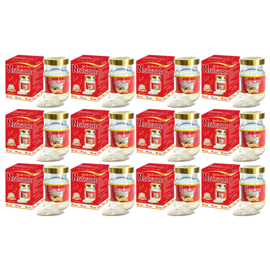 Yến Lọ cao cấp Netsure có đường bổ sung dinh dưỡng (15% Yến, 70ml/lọ) - 16045847 , 9435778678082 , 62_21313789 , 498000 , Yen-Lo-cao-cap-Netsure-co-duong-bo-sung-dinh-duong-15Phan-Tram-Yen-70ml-lo-62_21313789 , tiki.vn , Yến Lọ cao cấp Netsure có đường bổ sung dinh dưỡng (15% Yến, 70ml/lọ)