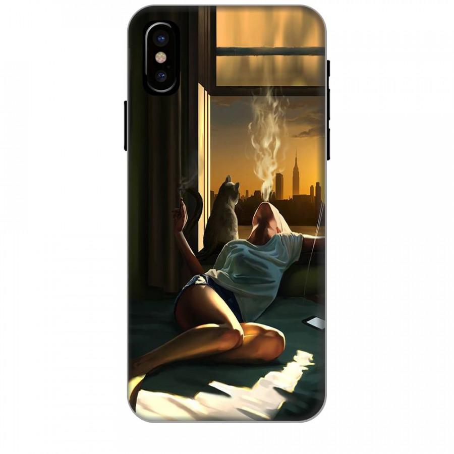 Ốp lưng dành cho điện thoại iPhone XR - X/XS - XS MAX - Cô Đơn Mình Em
