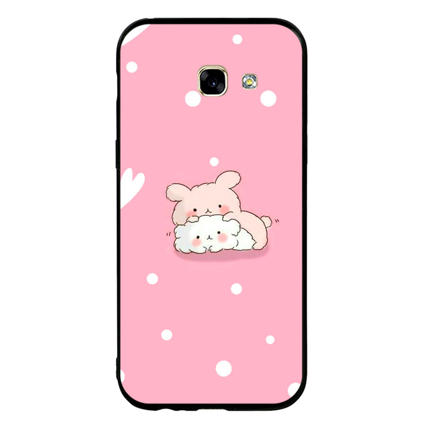Ốp Lưng Viền TPU cho điện thoại Samsung Galaxy A5 2017 - Couple 06