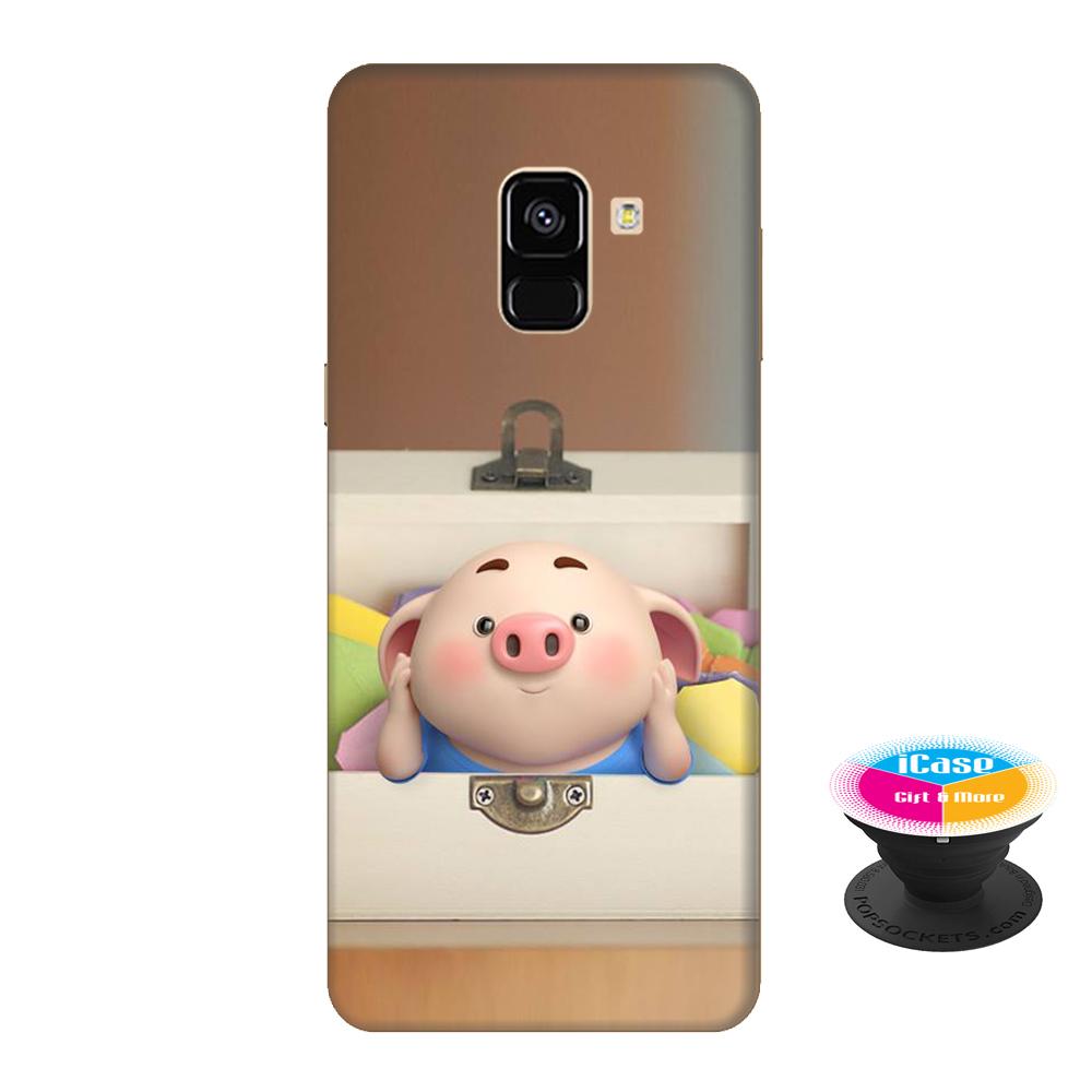 Ốp lưng nhựa dẻo dành cho Samsung A8 2018 in hình Heo Con Nằm Hộp - Tặng Popsocket in logo iCase - Hàng Chính Hãng - 18613174 , 2496270726128 , 62_22077812 , 200000 , Op-lung-nhua-deo-danh-cho-Samsung-A8-2018-in-hinh-Heo-Con-Nam-Hop-Tang-Popsocket-in-logo-iCase-Hang-Chinh-Hang-62_22077812 , tiki.vn , Ốp lưng nhựa dẻo dành cho Samsung A8 2018 in hình Heo Con Nằm Hộp