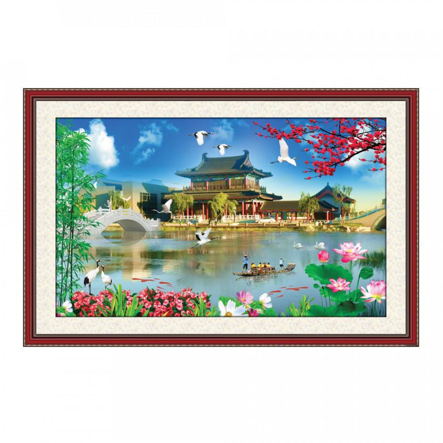 Tranh Phong Thủy Q12K-ZTH(93) - 807298 , 1775559928479 , 62_10208051 , 209000 , Tranh-Phong-Thuy-Q12K-ZTH93-62_10208051 , tiki.vn , Tranh Phong Thủy Q12K-ZTH(93)