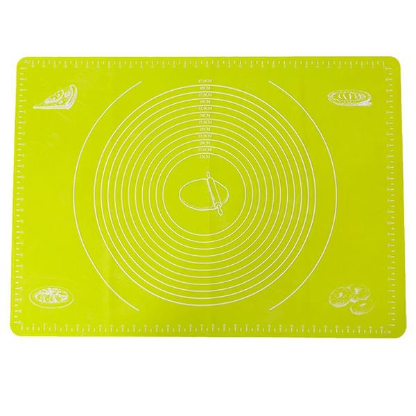 Silicone Baking Mat with Measurements 27.2 By 19.7 Inches Extra Large Non-slid Nonstick Rolling Pastry Mat