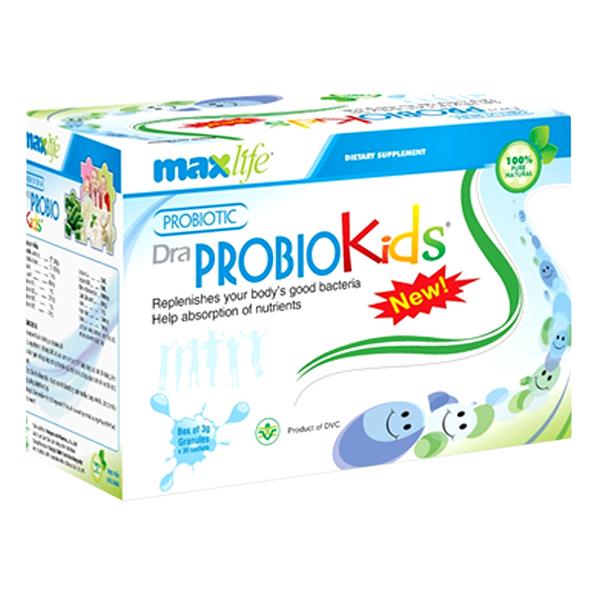 Thực Phẩm Chức Năng Men Vi Sinh Dra Probiokids Maxlife (30 Gói) - 1035478 , 1073950374537 , 62_3223755 , 180000 , Thuc-Pham-Chuc-Nang-Men-Vi-Sinh-Dra-Probiokids-Maxlife-30-Goi-62_3223755 , tiki.vn , Thực Phẩm Chức Năng Men Vi Sinh Dra Probiokids Maxlife (30 Gói)