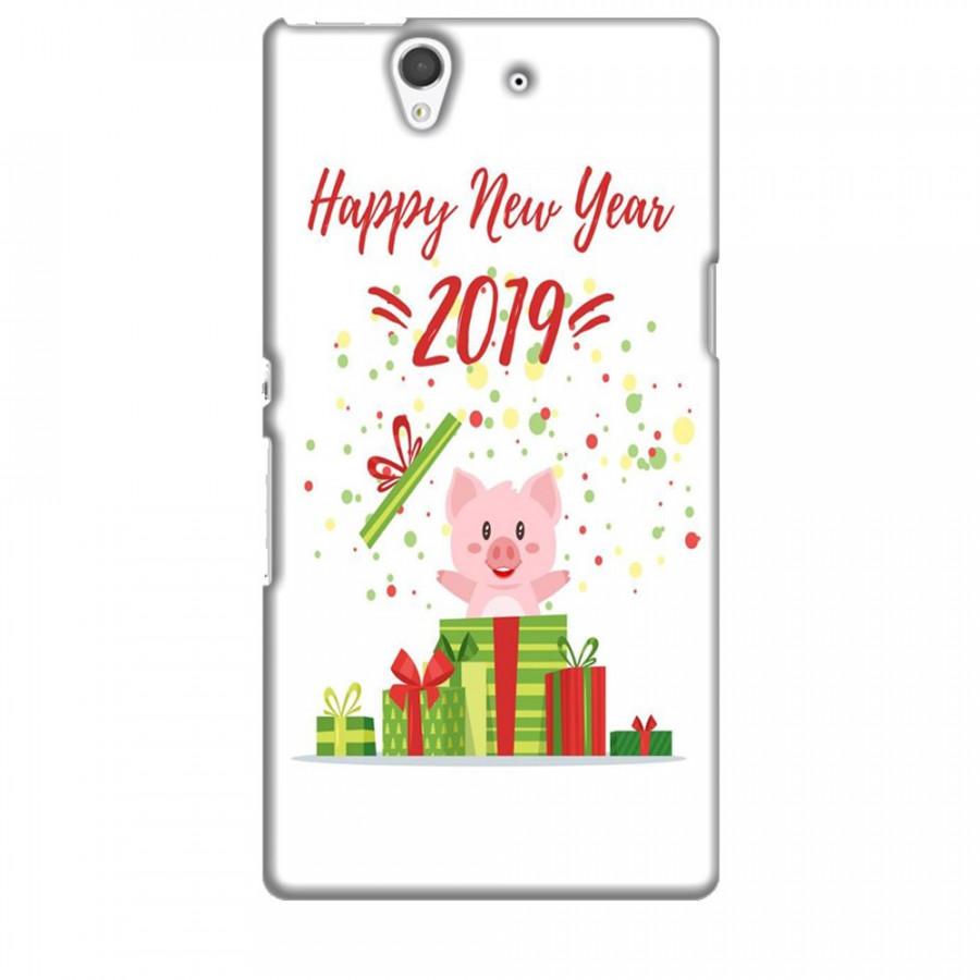 Ốp lưng dành cho điện thoại SONY Z Happy New Year Mẫu 3