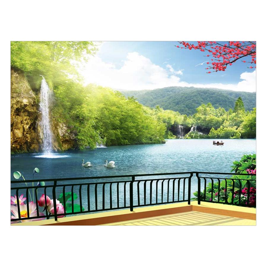 Tranh Dán Tường Phong Cảnh 3D TV0131