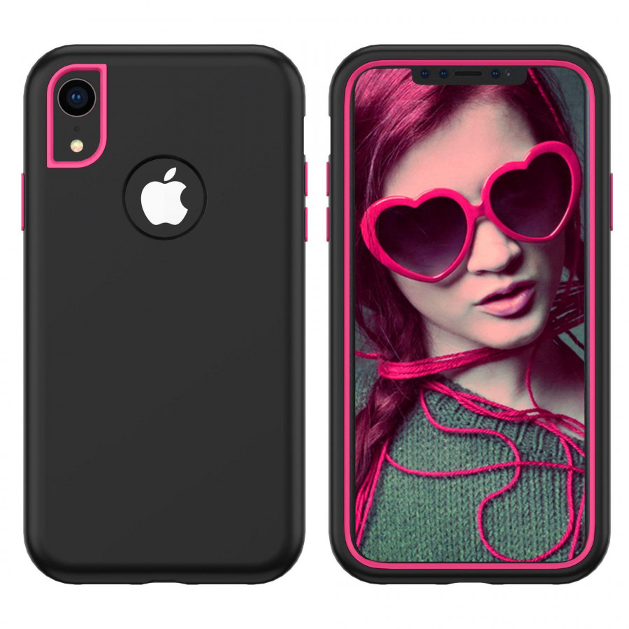 For iPhoneX/XS, XR, XS Max 3 in 1 Heavy Duty Hybrid Rugged Protective Case Models:iphoneXS max