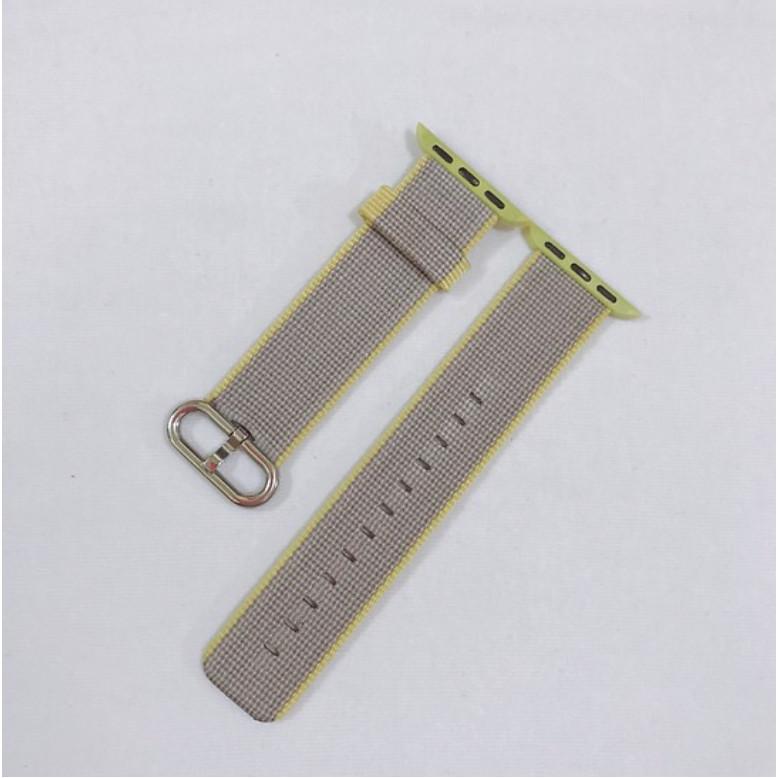 Dây đeo cho đồng hồ Apple Watch Woven Nylon màu Sọc Xám Vàng - 38/40mm - 9610637 , 7543974935716 , 62_19401639 , 450000 , Day-deo-cho-dong-ho-Apple-Watch-Woven-Nylon-mau-Soc-Xam-Vang-38-40mm-62_19401639 , tiki.vn , Dây đeo cho đồng hồ Apple Watch Woven Nylon màu Sọc Xám Vàng - 38/40mm