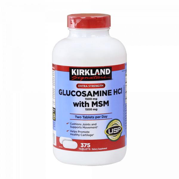 Thực phẩm chức năng Viên uống bổ sung Glucosamine cho xương khớp - Kirkland Glucosamine HCl 1500mg with MSM (375 Viên) - 6085833 , 6732283605354 , 62_8338053 , 899000 , Thuc-pham-chuc-nang-Vien-uong-bo-sung-Glucosamine-cho-xuong-khop-Kirkland-Glucosamine-HCl-1500mg-with-MSM-375-Vien-62_8338053 , tiki.vn , Thực phẩm chức năng Viên uống bổ sung Glucosamine cho xương khớp