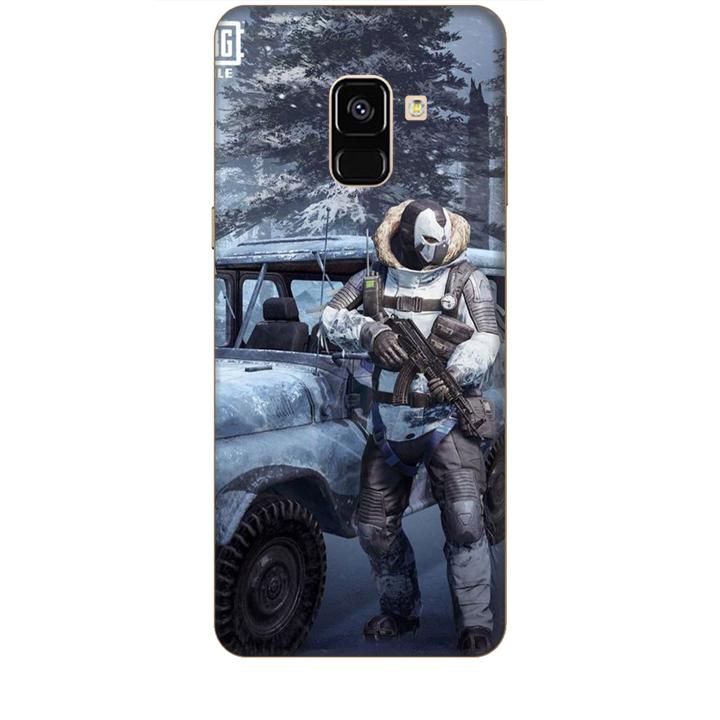 Ốp lưng dành cho điện thoại  SAMSUNG GALAXY A8 2018 hình PUBG Mẫu 15