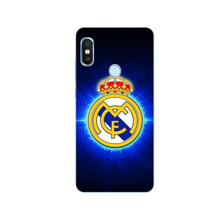 Ốp Lưng Dẻo Cho Điện thoại Xiaomi Redmi Note 5 - Clb Real Madrid 01
