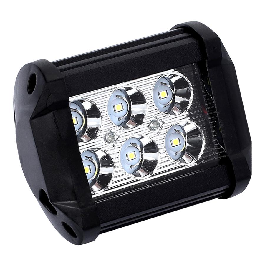 Đèn LED Trợ Sáng Xe Địa Hình (18W) (6LED)