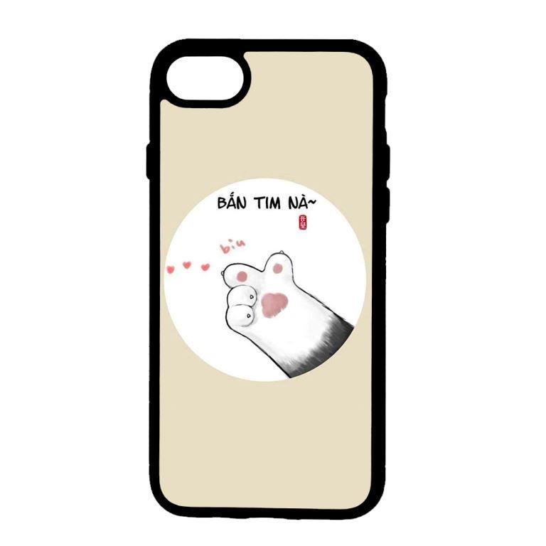 Ốp lưng dành cho điện thoại Iphone 7 Bắn Tim Nà
