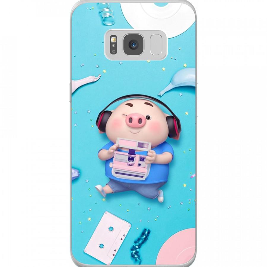 Ốp Lưng Cho Điện Thoại Samsung Galaxy S8 Plus - Mẫu aheocon 111