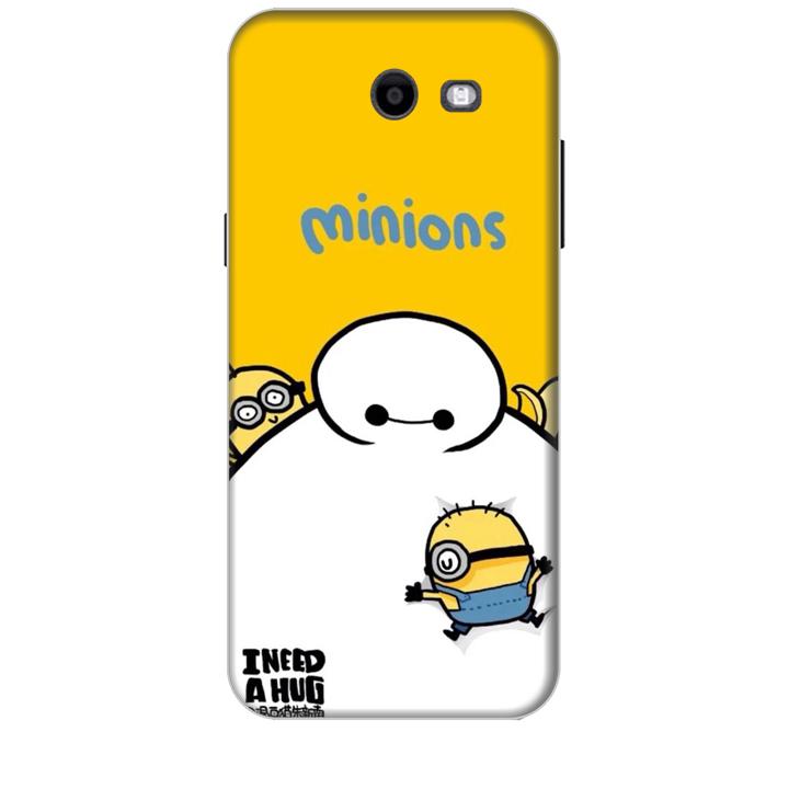 Ốp lưng dành cho điện thoại  SAMSUNG GALAXY J3 PRIME hinh Big Hero Minions