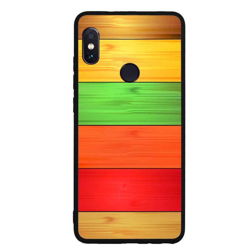 Ốp lưng nhựa cứng viền dẻo TPU cho điện thoại Xiaomi Redmi Note 5 - Sắc Màu