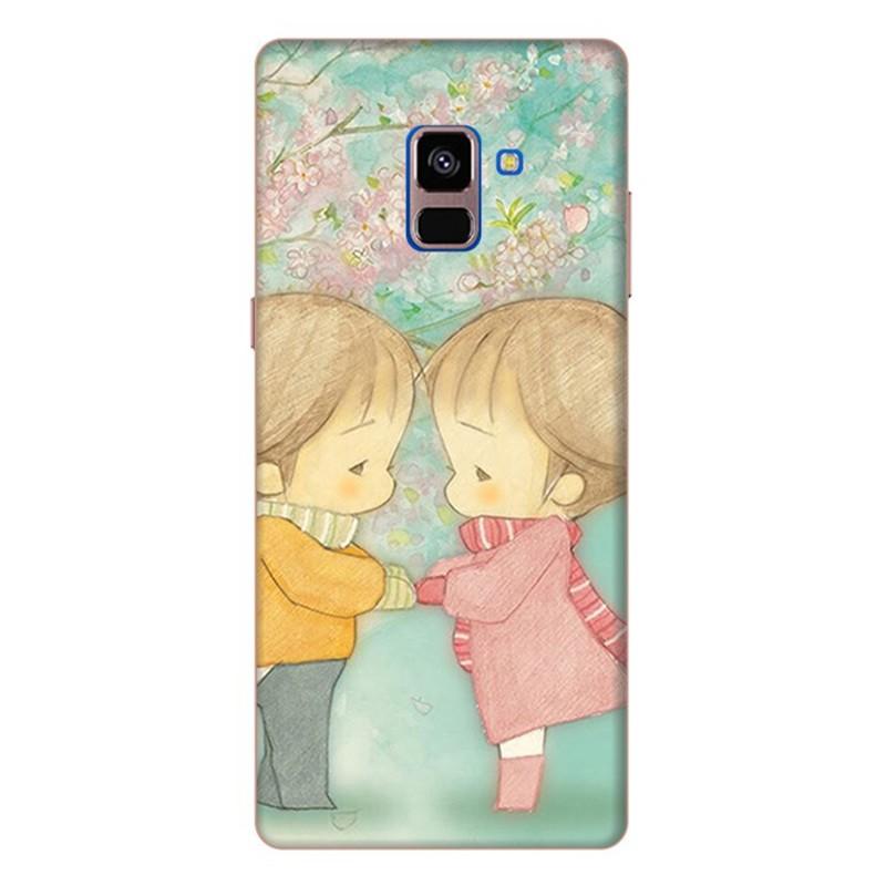 Ốp Lưng Dành Cho Samsung Galaxy A8 Plus - Mẫu 166