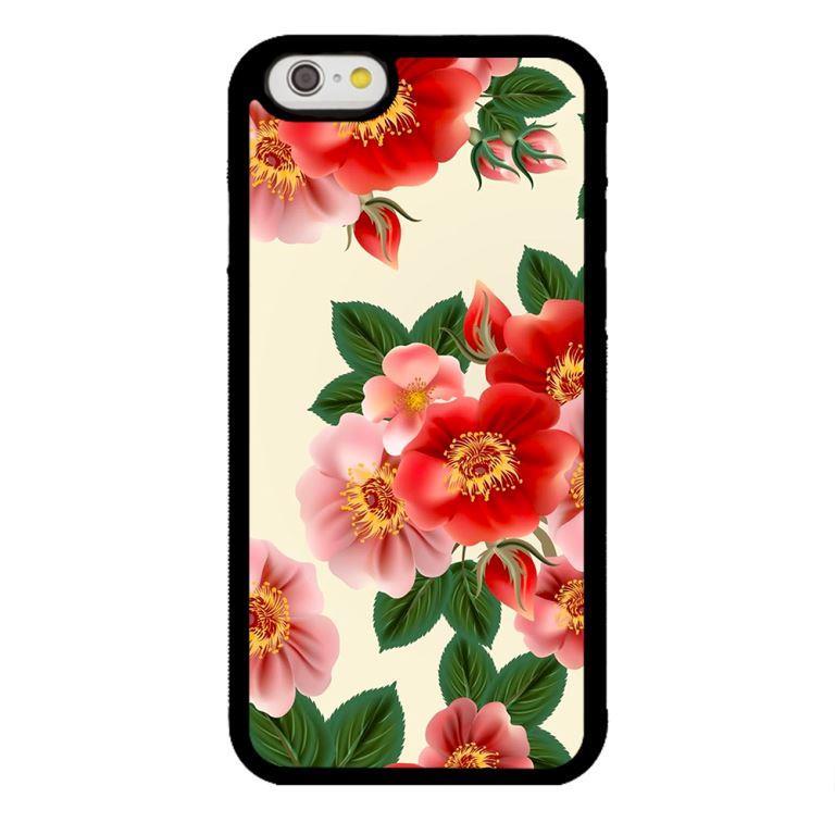Ốp lưng dành cho điện thoại Iphone 6s Họa Tiết Hoa Nhụy Vàng