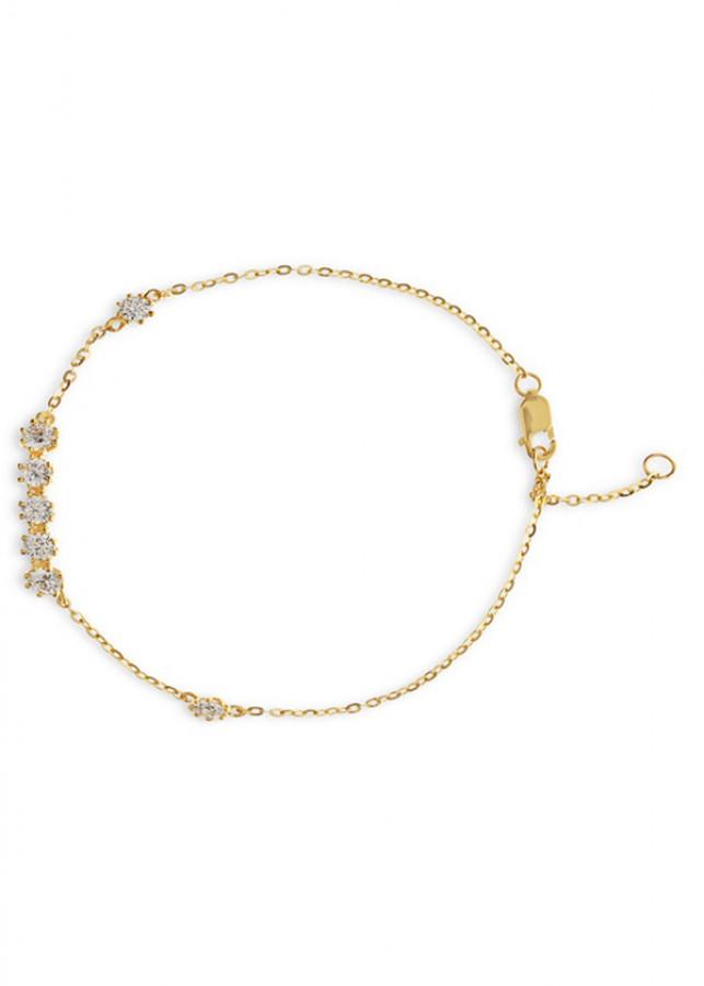 Lắc Tay Nữ Vàng 14K - LLF32 Huy Thanh Jewelry - 0,426 chỉ