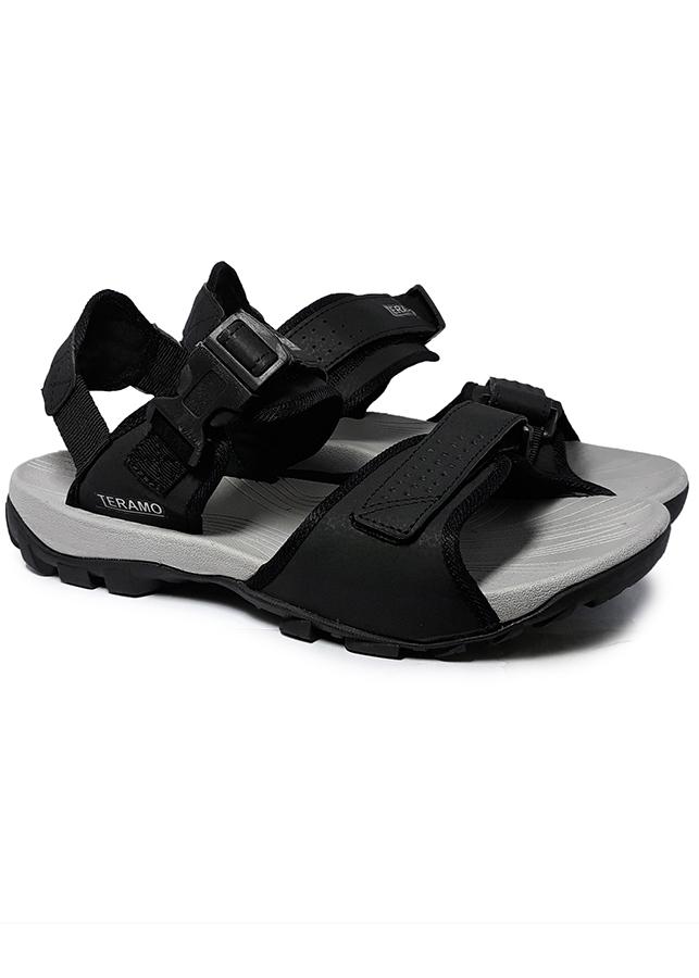 Giày Sandal Nam Quai Ngang Teramo TRM28 Đen