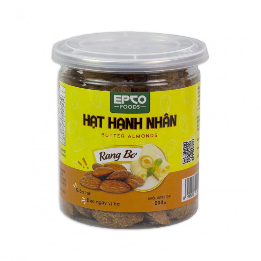 Hạt Hạnh Nhân EPCO FOODS - Rang Bơ 200G - 2012650 , 5536239435665 , 62_14711809 , 179000 , Hat-Hanh-Nhan-EPCO-FOODS-Rang-Bo-200G-62_14711809 , tiki.vn , Hạt Hạnh Nhân EPCO FOODS - Rang Bơ 200G