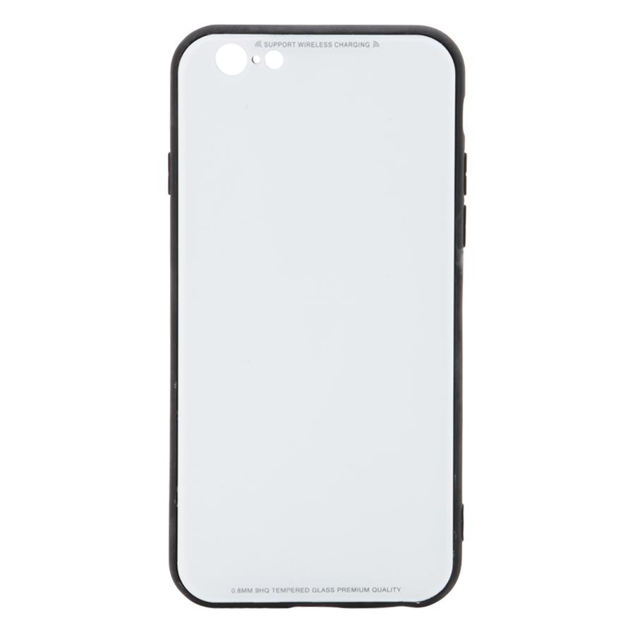 Ốp Lưng Dành Cho iPhone 6/ 6S Mặt Kính Cường Lực Chống Vỡ Cao Cấp