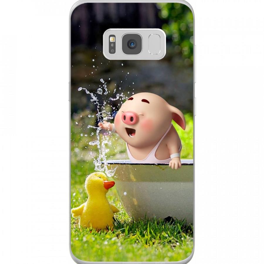 Ốp Lưng Cho Điện Thoại Samsung Galaxy S8 Plus - Mẫu aheocon 85