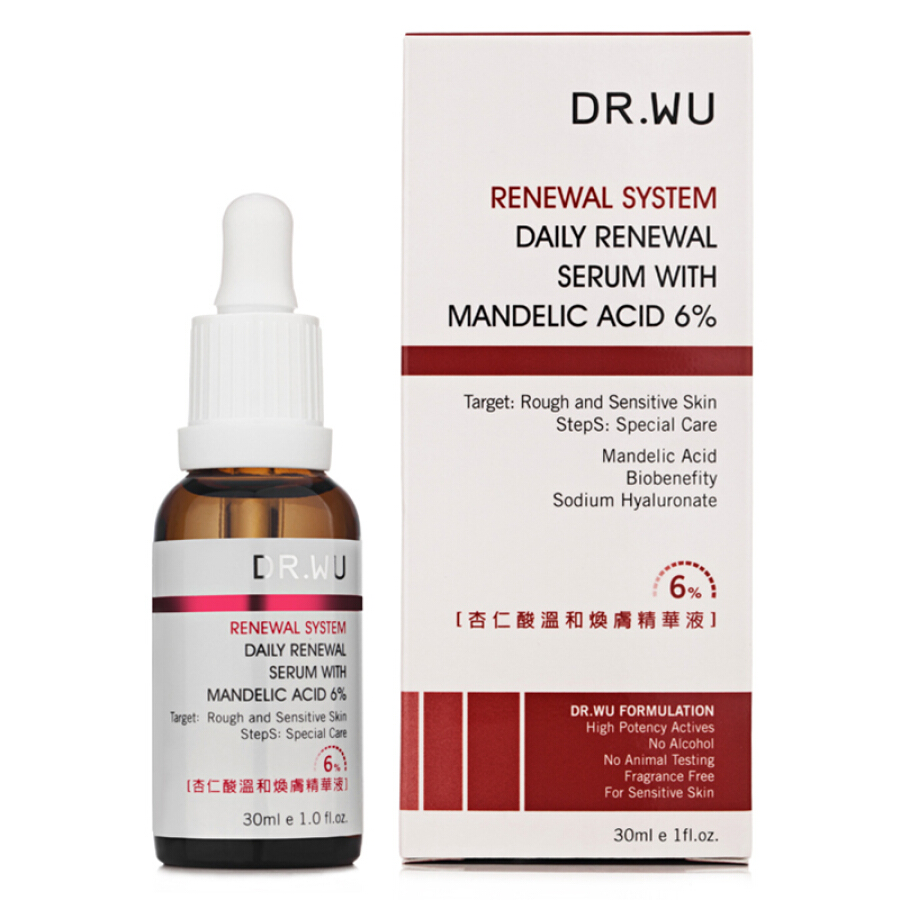 DR.WU Darling Mantel Acid Gentle Skin Essence 30ml (improve acne acne Indian black hair conditioning cuticle men and women skin care products) - 7139171 , 2705465879663 , 62_10500732 , 1055000 , DR.WU-Darling-Mantel-Acid-Gentle-Skin-Essence-30ml-improve-acne-acne-Indian-black-hair-conditioning-cuticle-men-and-women-skin-care-products-62_10500732 , tiki.vn , DR.WU Darling Mantel Acid Gentle Sk