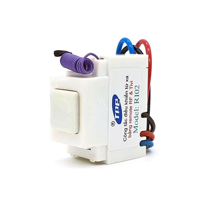Bộ 5 công tắc điều khiển từ xa IR + RF lắp mặt panasonic TPE RI02 - 1064226 , 9340551857816 , 62_5419259 , 650000 , Bo-5-cong-tac-dieu-khien-tu-xa-IR-RF-lap-mat-panasonic-TPE-RI02-62_5419259 , tiki.vn , Bộ 5 công tắc điều khiển từ xa IR + RF lắp mặt panasonic TPE RI02