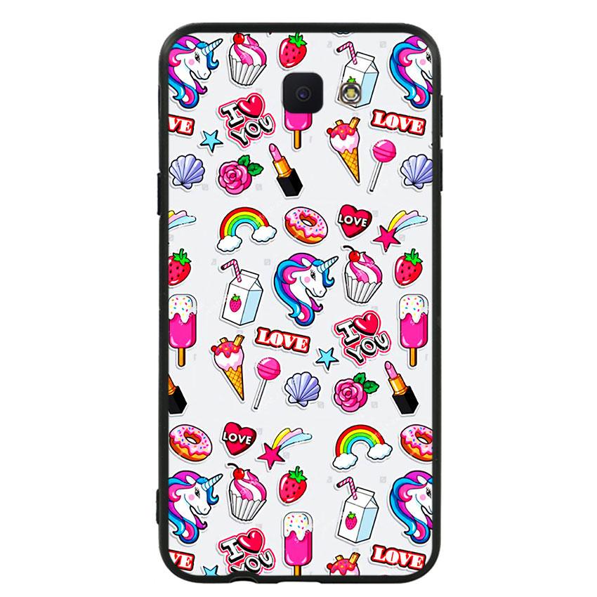 Ốp lưng nhựa cứng viền dẻo TPU cho điện thoại Samsung Galaxy J5 Prime -Sweet 02