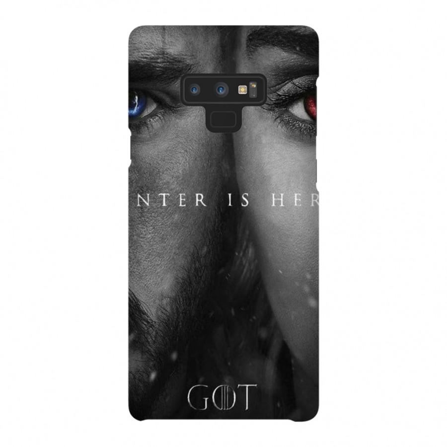 Ốp Lưng Cho Điện Thoại Samsung Galaxy Note 9 Game Of Thrones - Mẫu 366