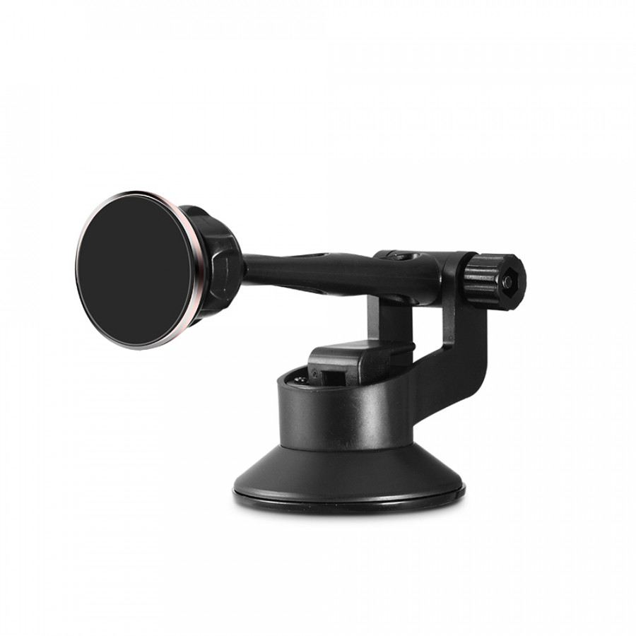 Universal Magnetic Car Air Vent Phone Holder Windshield Gps Phone Mount Holder Stand Mount For Iphone Samsung Huawei - Black