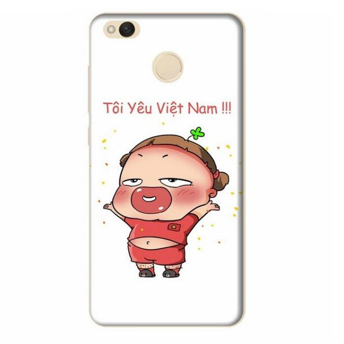 Ốp Lưng Dành Cho Xiaomi Redmi 4X Quynh Aka 1