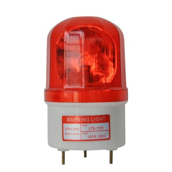 Đèn cảnh báo giao thông có còi hú 220V