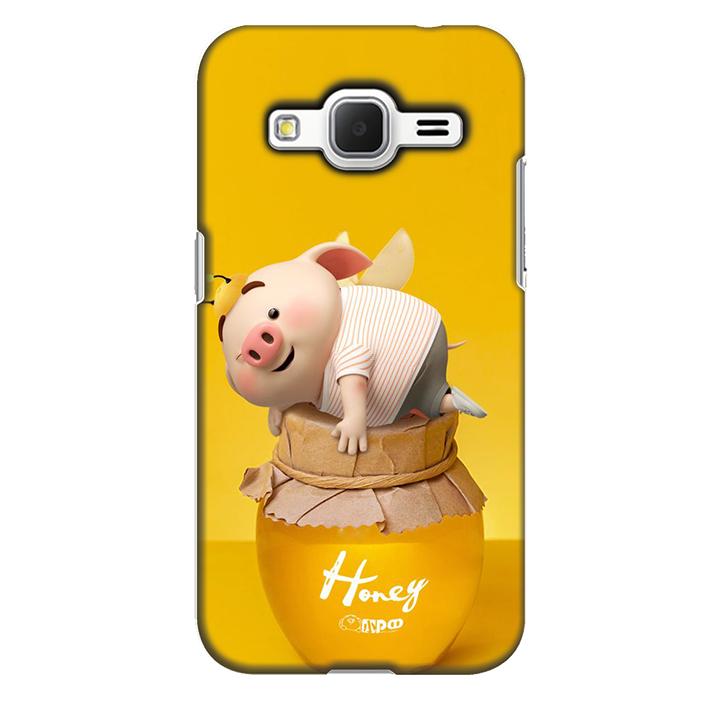 Ốp lưng nhựa cứng nhám dành cho Samsung Galaxy Core Prime in hình Honey
