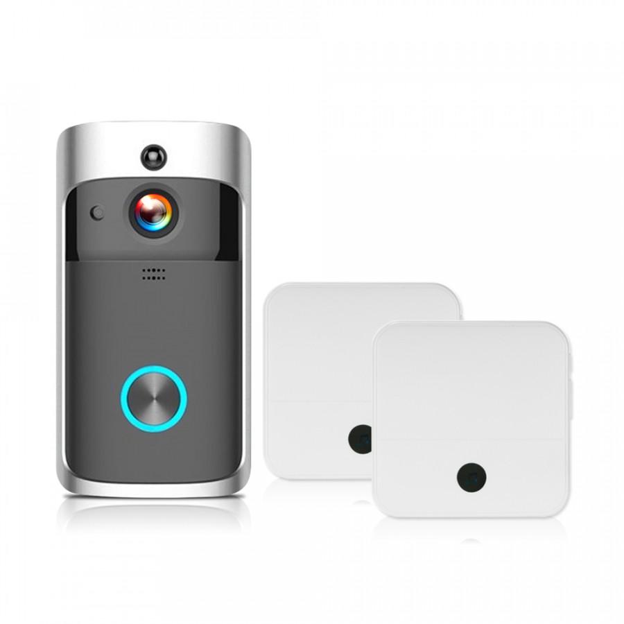 WiFi Smart Wireless Security DoorBell Smart HD 1080P Visual Intercom Recording Video Door Phone Remote Home Monitoring - 2372637 , 7756400479825 , 62_15562891 , 1514000 , WiFi-Smart-Wireless-Security-DoorBell-Smart-HD-1080P-Visual-Intercom-Recording-Video-Door-Phone-Remote-Home-Monitoring-62_15562891 , tiki.vn , WiFi Smart Wireless Security DoorBell Smart HD 1080P Visu