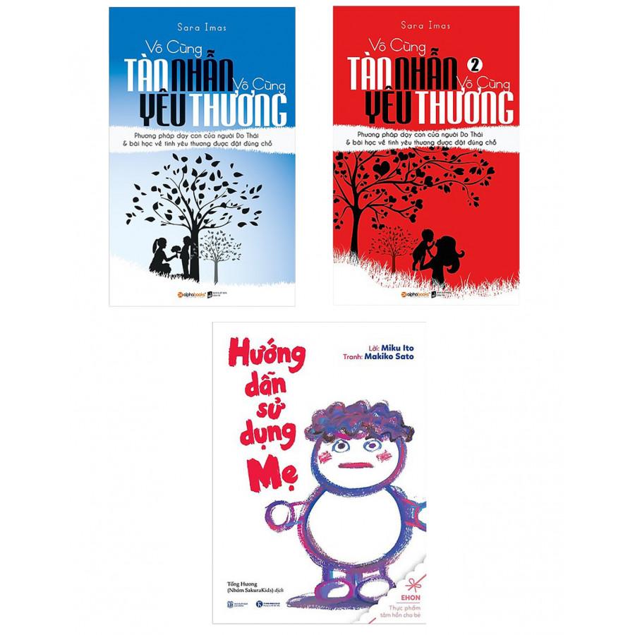 Combo Sách Làm Cha Mẹ Vô Cùng Tàn Nhẫn, Vô Cùng Yêu Thương (Tập 2) - Tái Bản 2017 + Vô Cùng Tàn Nhẫn Vô Cùng Yêu... - 1630766 , 9240008103322 , 62_11336597 , 347000 , Combo-Sach-Lam-Cha-Me-Vo-Cung-Tan-Nhan-Vo-Cung-Yeu-Thuong-Tap-2-Tai-Ban-2017-Vo-Cung-Tan-Nhan-Vo-Cung-Yeu...-62_11336597 , tiki.vn , Combo Sách Làm Cha Mẹ Vô Cùng Tàn Nhẫn, Vô Cùng Yêu Thương (Tập 2) -