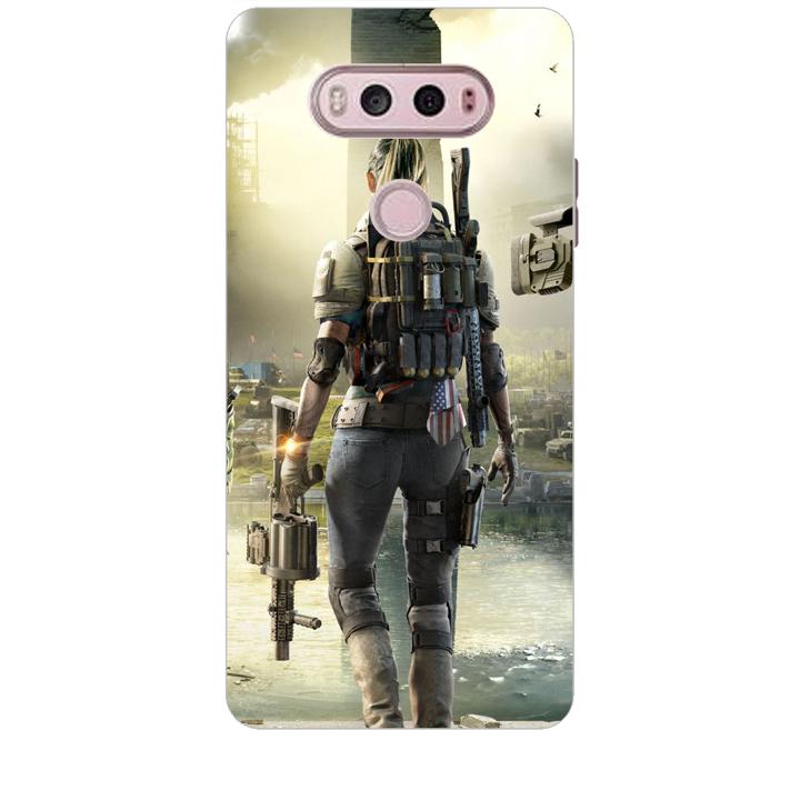Ốp lưng dành cho điện thoại LG V20 hinh PUBG Mẫu 04