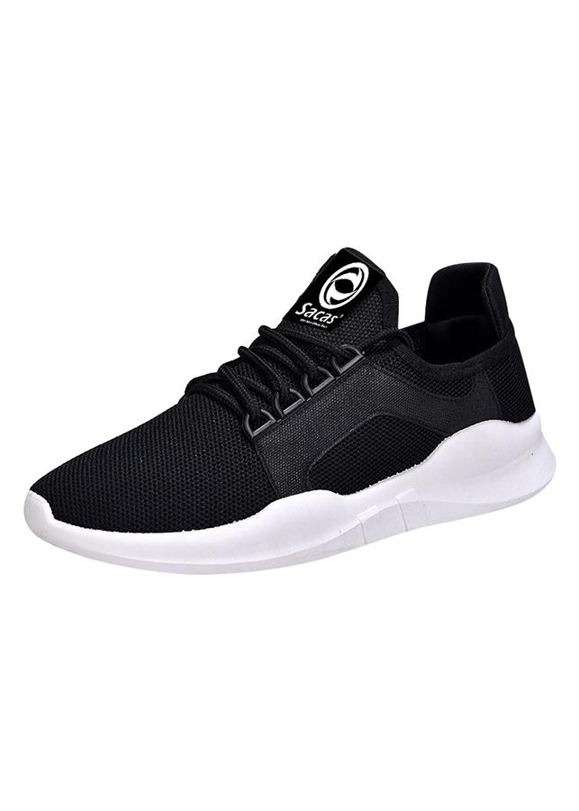Giày Sneaker Nữ Hàn Quốc SACAS SC015 - Đen