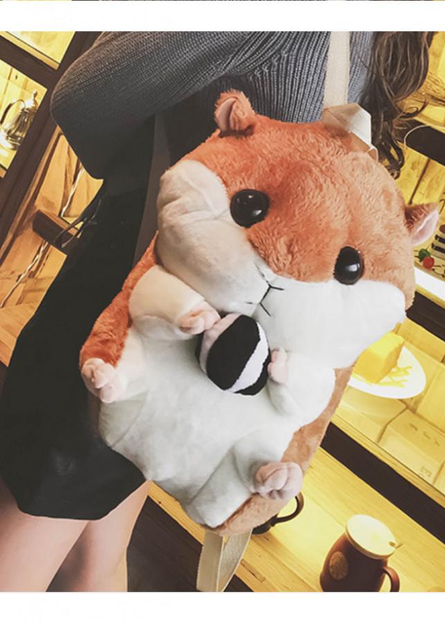 Balo hình chuột hamster siêu cute - 2125764 , 4294534792142 , 62_13521134 , 339000 , Balo-hinh-chuot-hamster-sieu-cute-62_13521134 , tiki.vn , Balo hình chuột hamster siêu cute