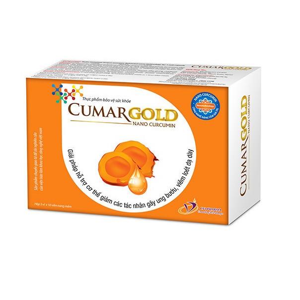 Thực phẩm bảo vệ sức khỏe Cumargold - Nano curcumin chính hãng