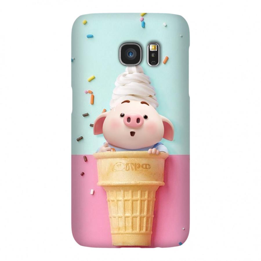 Ốp Lưng Cho Điện Thoại Samsung Galaxy S7 - Mẫu heocon 112