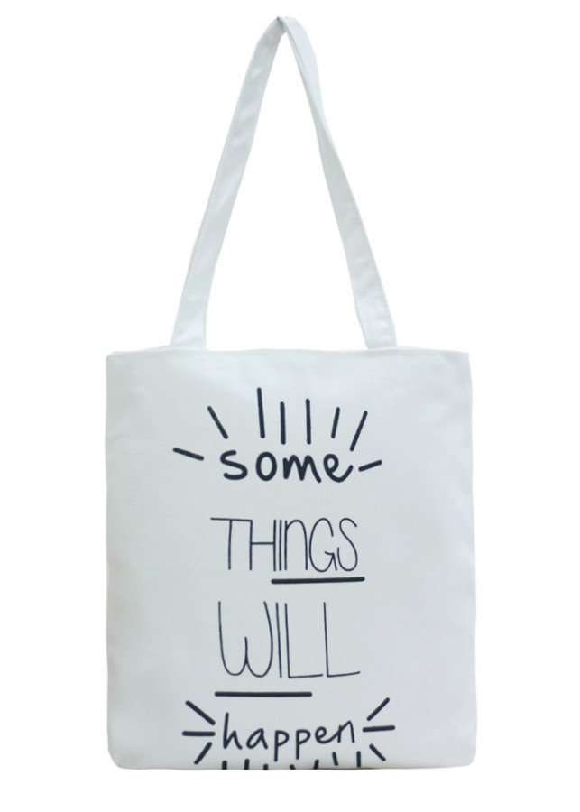 Túi Vải Đeo Vai Tote Bag Some Thing