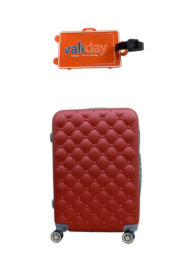 Combo Du lịch Vali kéo - Nametag Validay màu đỏ rượu vang 818 - 2119825 , 9349274632397 , 62_13456699 , 948000 , Combo-Du-lich-Vali-keo-Nametag-Validay-mau-do-ruou-vang-818-62_13456699 , tiki.vn , Combo Du lịch Vali kéo - Nametag Validay màu đỏ rượu vang 818