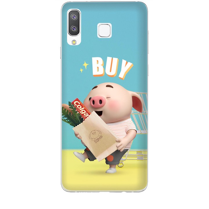 Ốp lưng dành cho điện thoại  SAMSUNG GALAXY A8 STAR Heo Con Mua Sắm