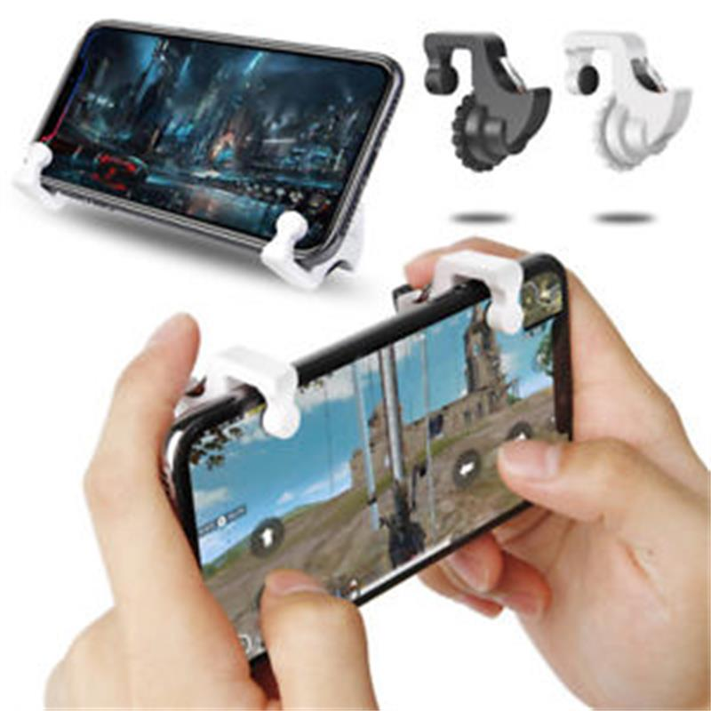 Mobile Game Controller Mobile Game Joystick High Precision L1R1 for PUBG Shooter Controller Joystick for Android/IOS Phone