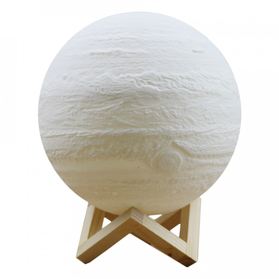 3D Printing Touching Jupiter Light Usb Rechargeable 2 - Color Dimmable Night Lamp Bedroom Decor With Wooden Stand - 5117670 , 3895017609332 , 62_16408140 , 407000 , 3D-Printing-Touching-Jupiter-Light-Usb-Rechargeable-2-Color-Dimmable-Night-Lamp-Bedroom-Decor-With-Wooden-Stand-62_16408140 , tiki.vn , 3D Printing Touching Jupiter Light Usb Rechargeable 2 - Color Dim