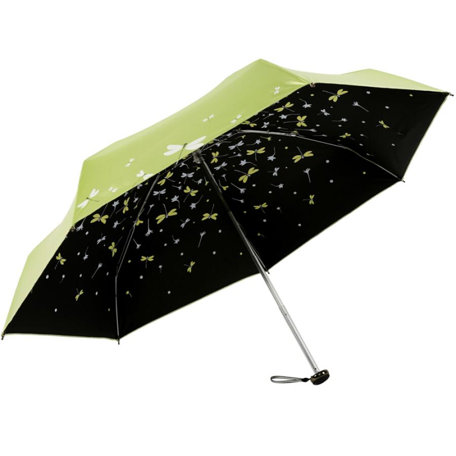 Paradise umbrella full shading (UPF50+) mercerized velvet glue 50% off umbrella umbrella 31834E rose red