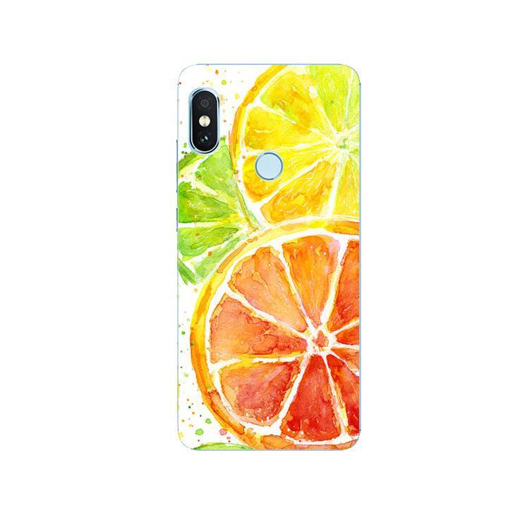 Ốp Lưng Dẻo Cho Điện thoại Xiaomi Redmi Note 5 - Oranges