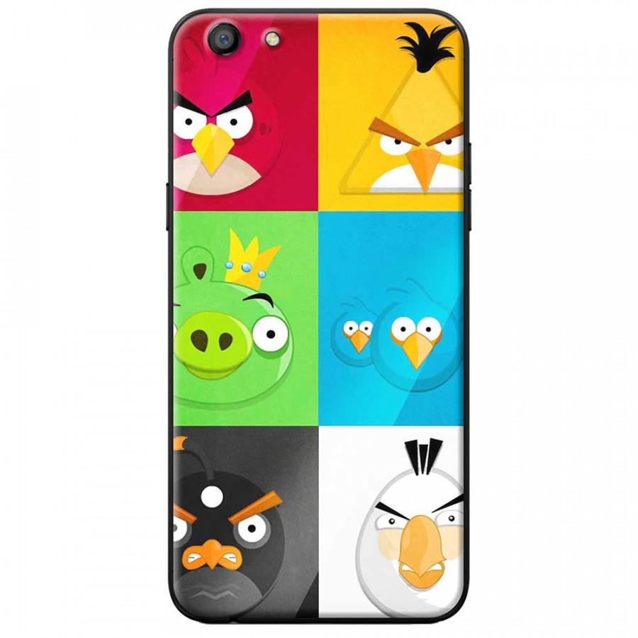 Ốp lưng dành cho Oppo A71 mẫu Angry birds