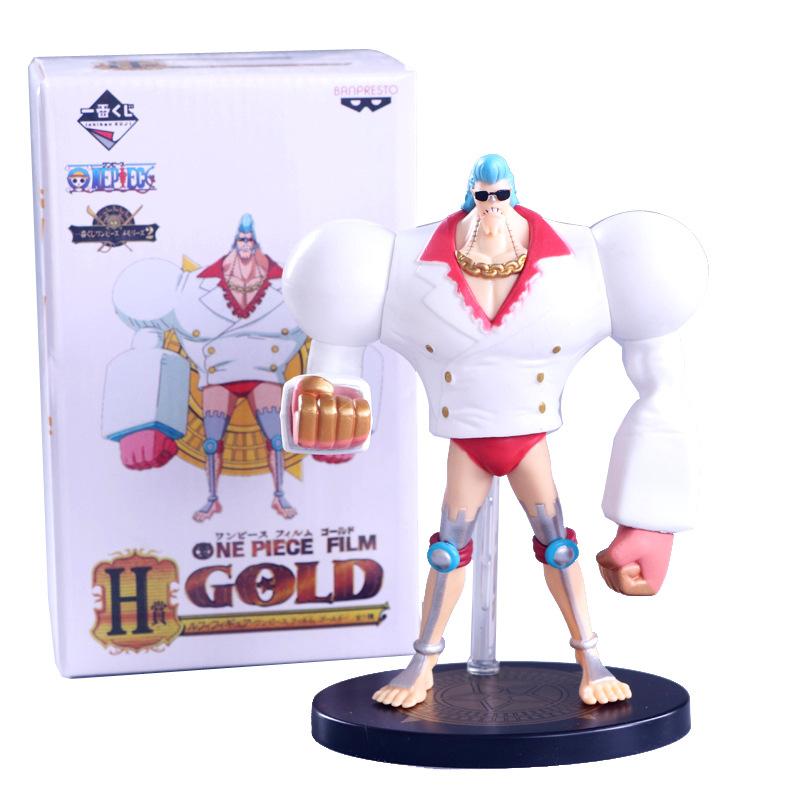 Mô hình Franky - One Piece trắng bản lớn 18cm